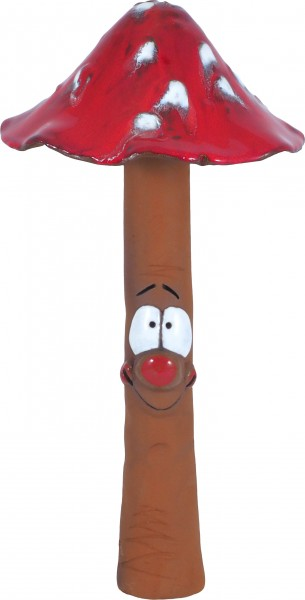 Toadstool with face 38 cm red