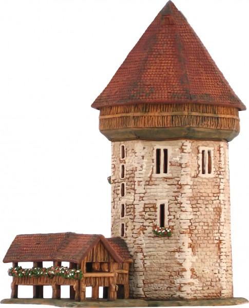 Wasserturm in Luzern, Schweiz