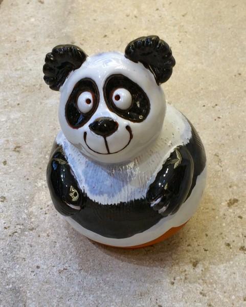 Gartenkugel Pandabär