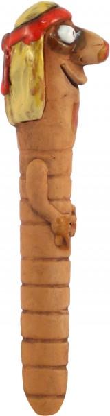 Gartenwurm Hippie 30cm