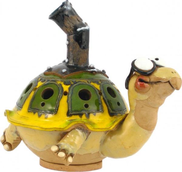 frostfeste Gartenkugel -Windlicht Schildkröte