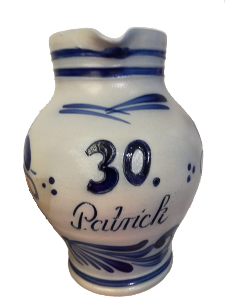 Bembel 1.5 liters with individual lettering
