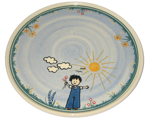 Childrens plate