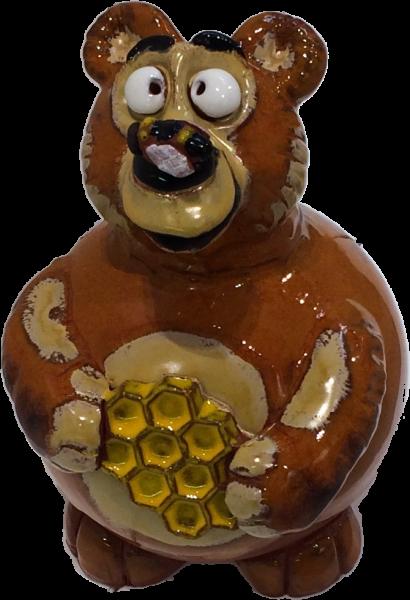 Garden ball bear with honeycomb