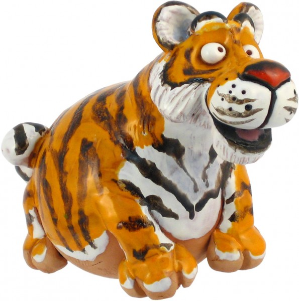Gartenkugel Tiger
