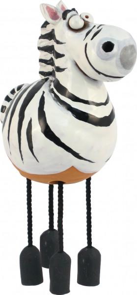 Gartenkugel Zebra