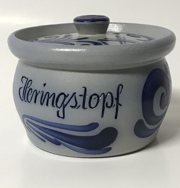 1 liter jar of herring pot