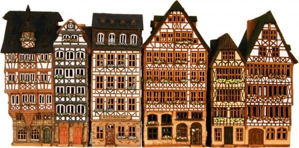 Frankfurter Römer 6 teilig
