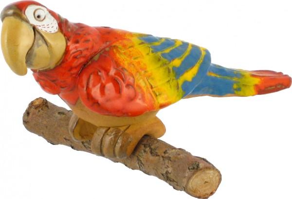 Gartenkugel Papagei