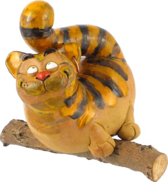 Garden ball cat