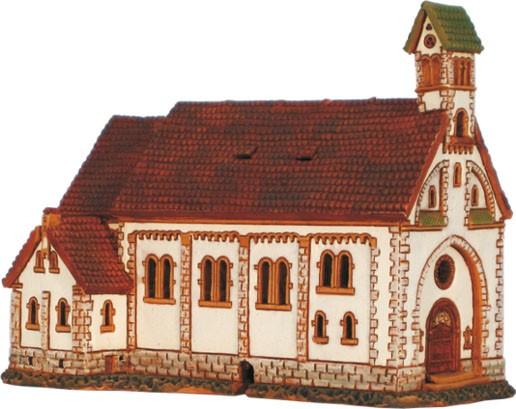 Wahrfahrtskirche in Witterschnee