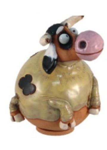 Gartenkugel Kuh