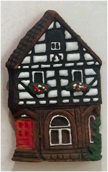 Magnet Lauterbach corner house at the market place