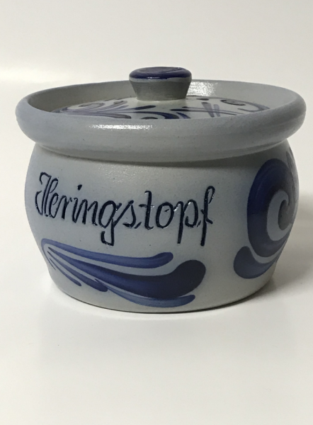 Can of 0.5 liter herring pot